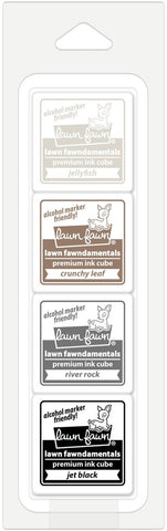 "Lawn Fawn - POTTERY STUDIO - 1"" Ink Cube Pack Fawndamentals"