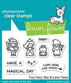 Lawn Fawn - TINY FAIRY TALE - Stamps Set