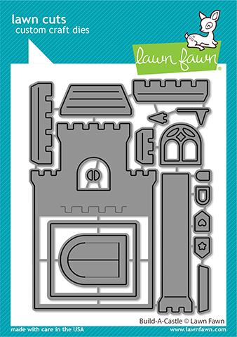 Lawn Fawn - BUILD-A-CASTLE - Dies Set