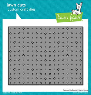 Lawn Fawn - SPARKLE Backdrop - Lawn Cuts DIE - 20% OFF!