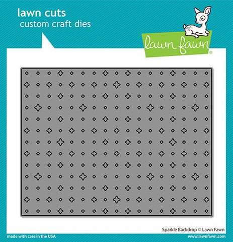 Lawn Fawn - SPARKLE Backdrop - Lawn Cuts DIE