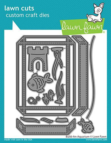 Lawn Fawn - BUILD-AN-AQUARIUM - Die Set