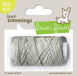 Lawn Fawn - Hemp Cord - Lawn Trimmings GLOW IN THE DARK