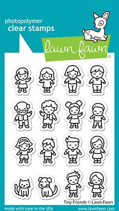 Lawn Fawn - TINY FRIENDS - Stamps Set