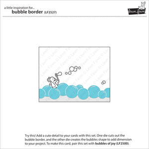 Lawn Fawn - BUBBLE BORDER - Lawn Cuts Die