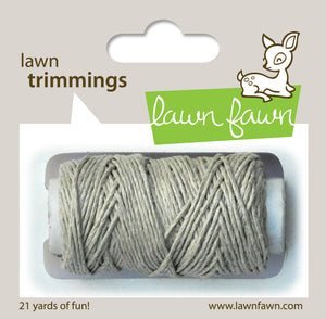 Lawn Fawn - Hemp Cord - Lawn Trimmings NATURAL - Hallmark Scrapbook