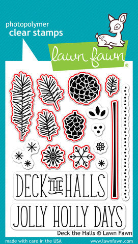 Lawn Fawn - Deck the Halls - LAWN CUTS dies 9 pc - Hallmark Scrapbook - 2