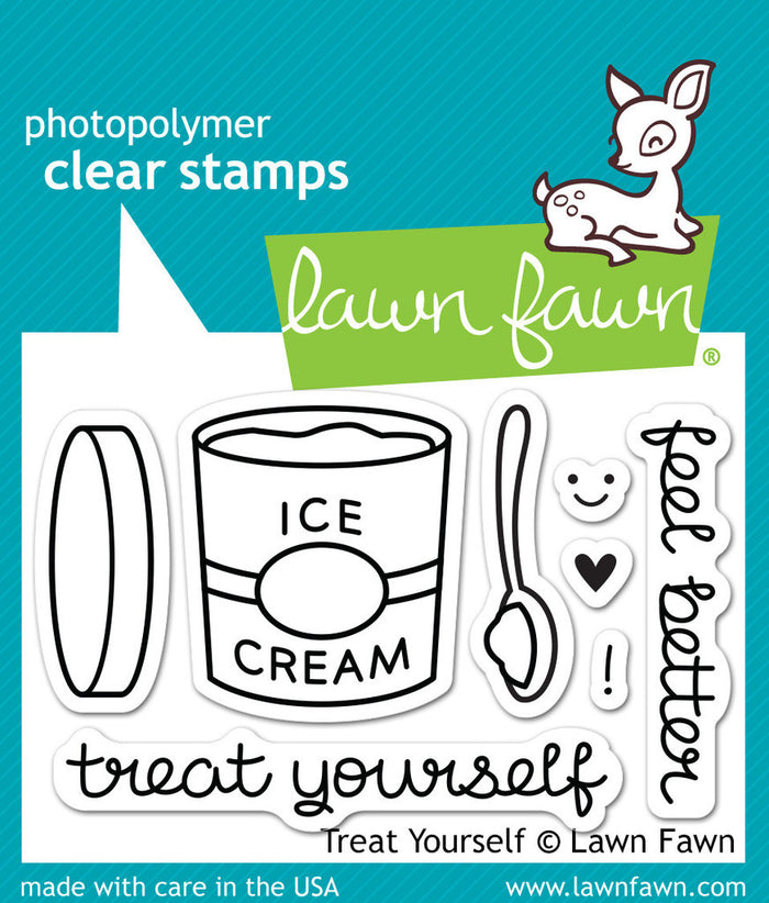 Treat Yourself Stamp and Die Set Lawn Fawn