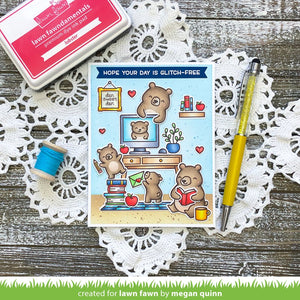 Lawn Fawn - VIRTUAL FRIENDS - Stamps Set