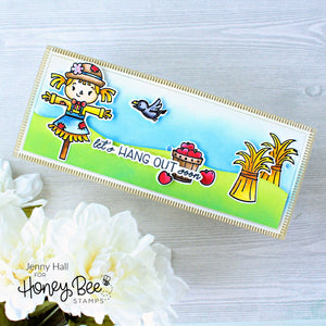 Honey Bee - HORIZON Slimline Borders - Die Set