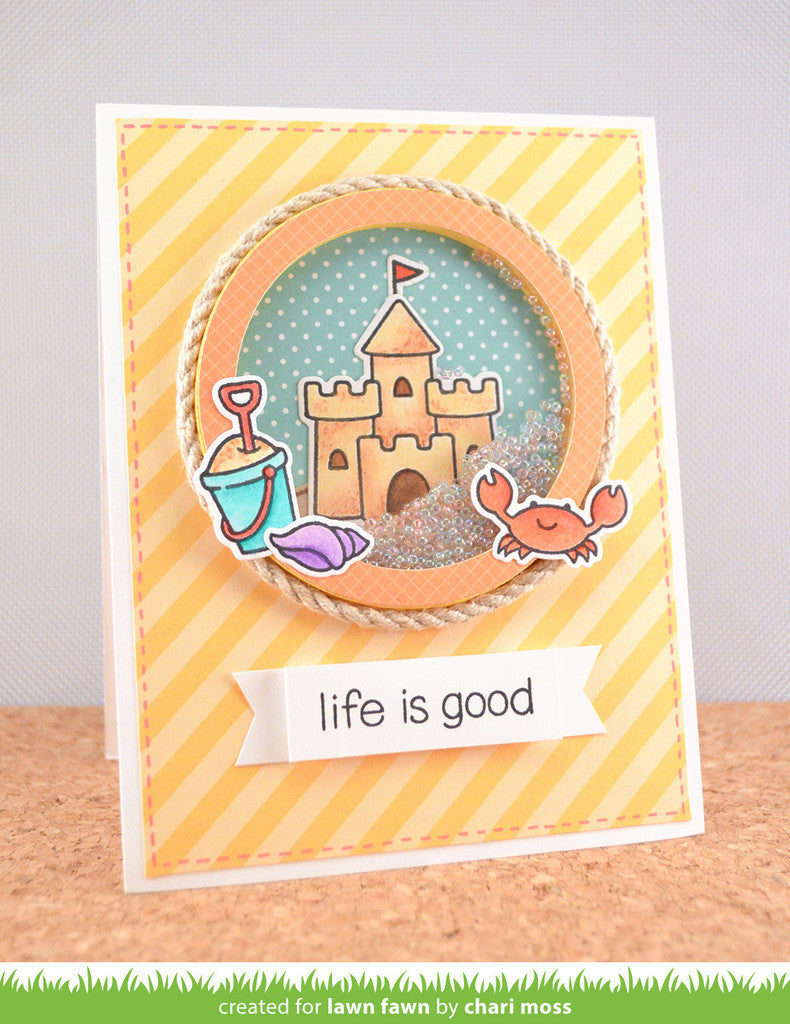 How to scrapbook good -  Lawn Fawn Life Is Good Clear Stamps 25 Pc Hallmark Scrapbook 6