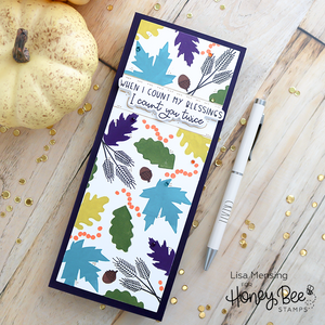 Honey Bee - HELLO FALL - Stamp Set