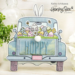 Honey Bee - LOADS OF SPRING - Dies Set