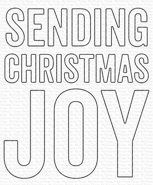 My Favorite Things - SENDING CHRISTMAS JOY - Die-Namics Die