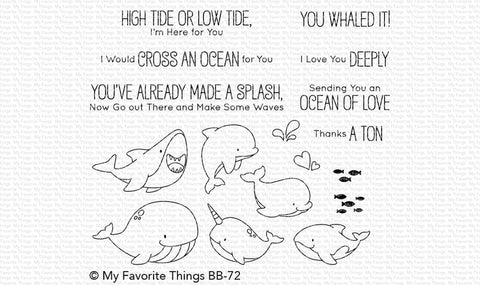 My Favorite Things - FRIENDS WITH FINS - Stamp Set