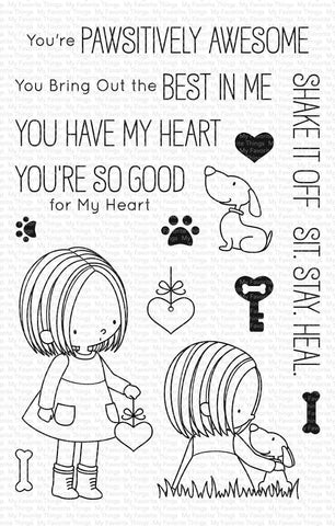 My Favorite Things - YOU HAVE MY HEART - Stamps Set