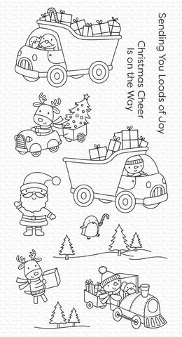 My Favorite Things - LOADS OF JOY - Clear Stamps Set
