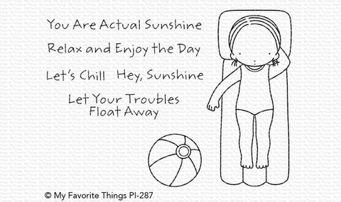 My Favorite Things - HEY, SUNSHINE - Stamp Set