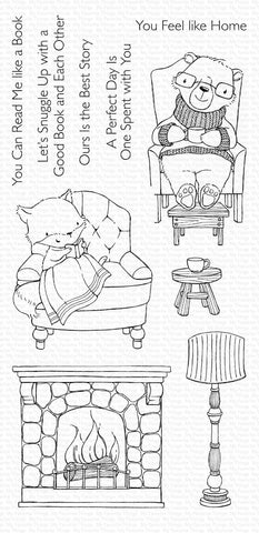 My Favorite Things - COZY COMPANIONS - Clear Stamps Set