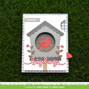 Lawn Fawn - MAGIC IRIS BIRDHOUSE ADD-ON - Lawn Cuts Die