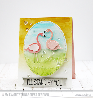 My Favorite Things - GRASSY FIELDS - Die-Namics Dies - Hallmark Scrapbook - 2