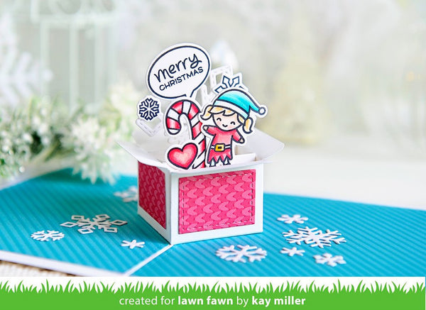 Lawn Fawn Mini Pop Up Box Dies Set Hallmark Scrapbook
