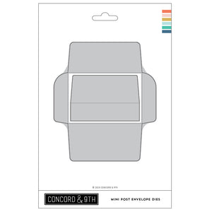 Concord & 9th - MINI POST ENVELOPE - Dies Set