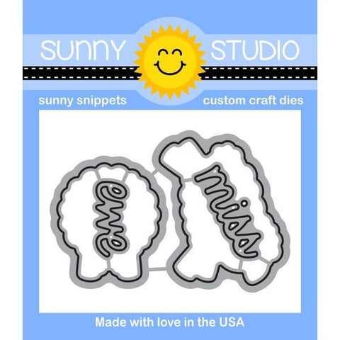Sunny Studio - MISSING EWE - Die set
