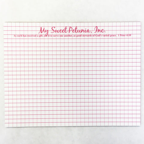 MISTI Gridded Mouse Pad for Original Misti Stamp Positioner Tool - Hallmark Scrapbook - 1