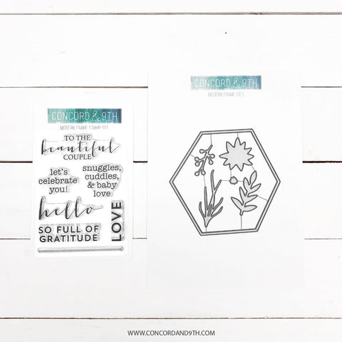 Concord & 9th - MODERN FRAMES - Stamps and Dies BUNDLE Set