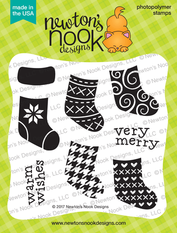 Newton's Nook Designs - STYLISH STOCKINGS Stamps Set