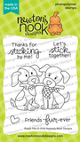 Newton's Nook Designs - PUPPY PALS - Clear Stamp Set