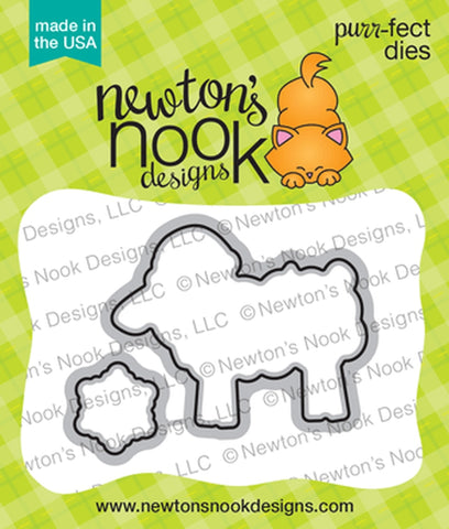 Newton's Nook Designs - FLEECE NAVIDAD - Die Set