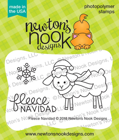 Newton's Nook Designs - FLEECE NAVIDAD - Clear Stamp Set