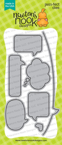 Newton's Nook Designs - SPEECH BUBBLES - Die Set