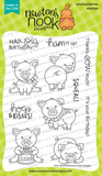 Newton's Nook Designs - OINK - Stamp Set