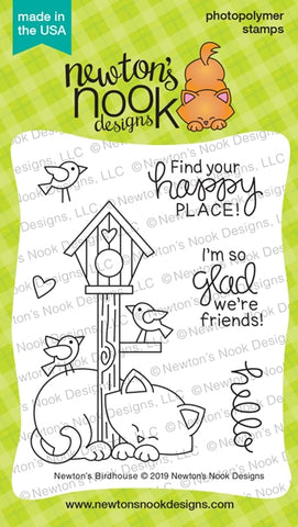 Newton's Nook Designs - BIRDHOUSE - Stamp Set
