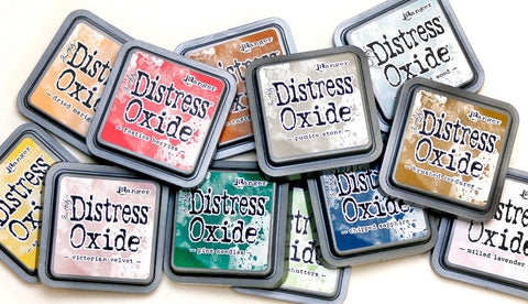Tim Holtz Ranger Distress Oxide Ink Pad Set 5 - SET OF 12 - 5th Release