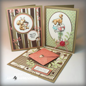 Art Impressions - NUTS ABOUT YOU - Stamp Set