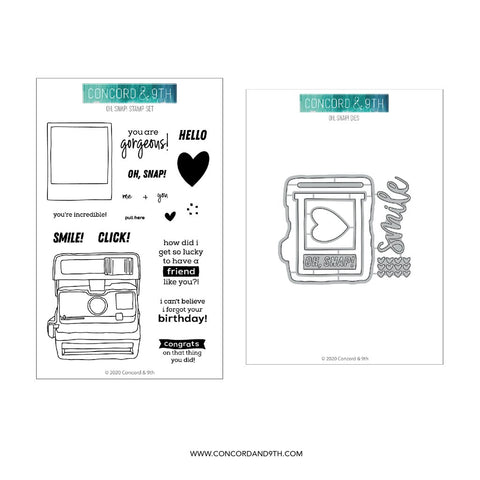Concord & 9th - OH, SNAP! - Stamps and Dies BUNDLE Set