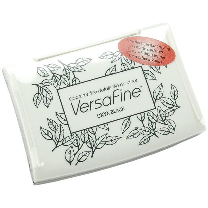 VersaFine Pigment Ink Pad - ONYX BLACK Fine Stamp Pad