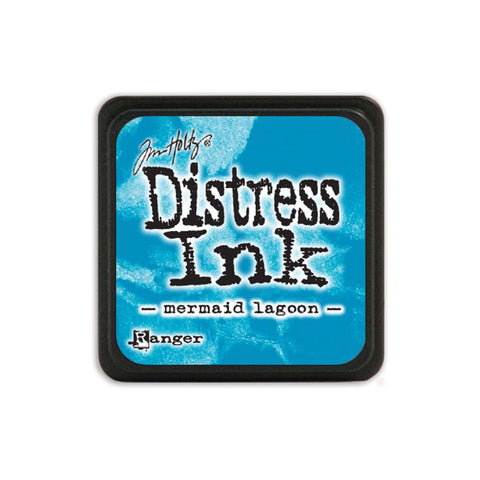 Tim Holtz Ranger Distress MINI Ink Pad - Mermaid Lagoon - Hallmark Scrapbook - 1