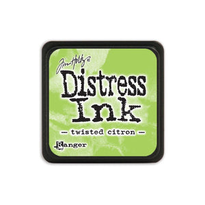 Tim Holtz Ranger Distress MINI Ink Pad - Twisted Citron - Hallmark Scrapbook - 1