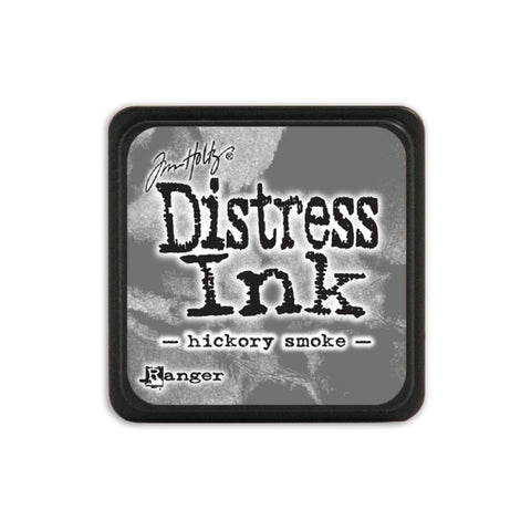 Tim Holtz Ranger Distress MINI Ink Pad - Hickory Smoke - Hallmark Scrapbook - 1