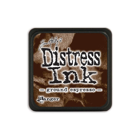 Tim Holtz Ranger Distress MINI Ink Pad - Ground Espresso - Hallmark Scrapbook - 1