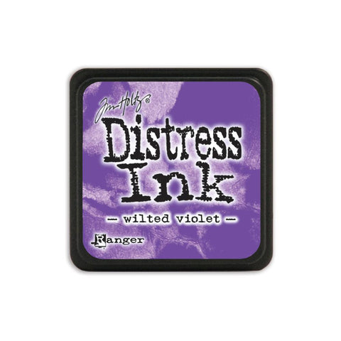 Tim Holtz Ranger Distress MINI Ink Pad - Wilted Violet - Hallmark Scrapbook - 1