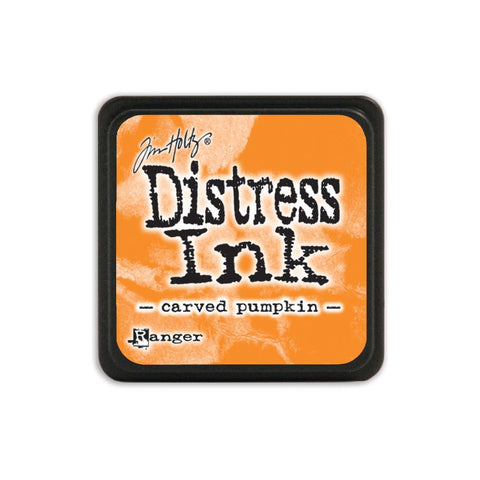 Tim Holtz Ranger Distress MINI Ink Pad - Carved Pumpkin - Hallmark Scrapbook - 1