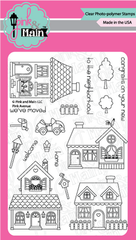 Pink & Main - PINK AVENUE - Stamps Set