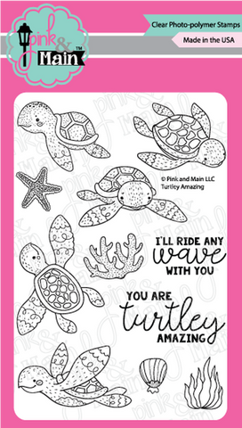 Pink & Main - TURTLEY AMAZING - Stamps Set - 30% OFF!