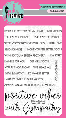 Pink & Main - FOREVER IN MY HEART - Stamps Set